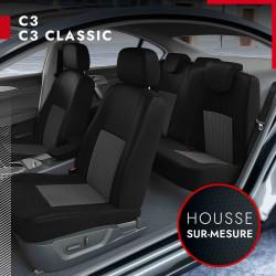 Housses sur mesure pour Citroën C3 et C3 Classic (de 09/2002 à 12/2010)