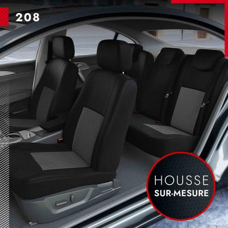 Housses sur mesure pour Peugeot 208 (de 03/2012 à 09/2019)