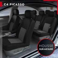 Housses sur mesure pour Citroën C4 Picasso (de 10/2006 à 05/2013)