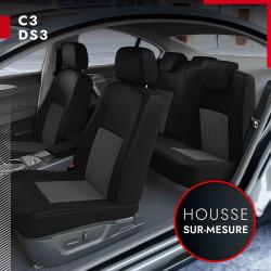 Housses sur mesure pour Citroën C3 (de 01/2010 à 2020)