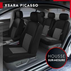 Housses sur mesure pour Citroën Xsara Picasso (de 09/2000 à 01/2011)