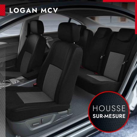 Housses sur mesure pour Dacia Logan MCV 5 et 7 Places (de 09/2006 à 12/2013)