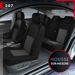 Housses sur mesure pour Peugeot 207 (de 04/2006 à 04/2012)