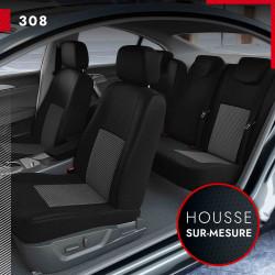 Housses de siège sur mesure pour Peugeot 308 (de 09/2007 à 08/2013)