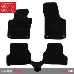 Tapis sur mesure pour Volkswagen Golf 5/6 (de 11/2003 à 11/2012)