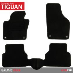 Tapis sur mesure pour Volkswagen Tiguan (de 10/2007 à 03/2016)