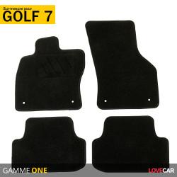 Tapis sur mesure pour Volkswagen Golf 7 (à partir de 11/2012)