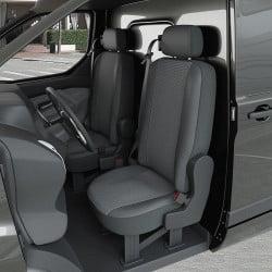 Housses utilitaire sans tablette pour Peugeot Bipper (de 02/2008 à 2020)
