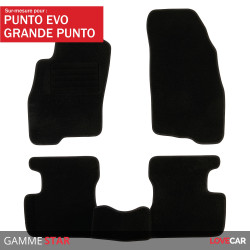 Tapis sur mesure Star pour Fiat Grande Punto et Punto Evo