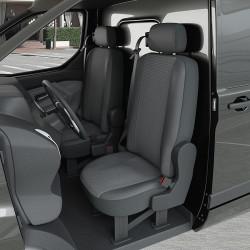Housses Utilitaire pour Fiat Fiorino (de 02/2008 à 2020) [sans tablette]