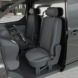 Housses Utilitaire pour Renault Kangoo 2 (de 02/2008 à 2020) [siège rabattable]