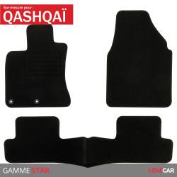 Tapis sur mesure pour Nissan Qashqai (de 02/2007 à 12/2013)