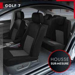 Housses sur mesure pour Volkswagen Golf 7 (de 11/2012 à 2020)