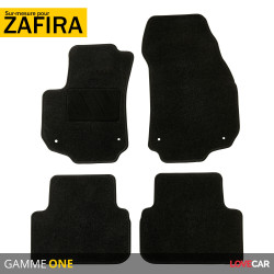 Tapis sur mesure pour Opel Zafira 2 (de 07/2005 à 12/2014)