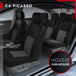 Housses sur mesure pour Citroën C4 Picasso et grand C4 Picasso(à partir de 06/2013)