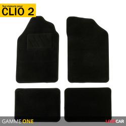 Tapis sur mesure pour Renault Clio 2 (de 03/1998 au 05/2001)