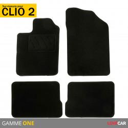 Tapis sur mesure pour Renault Clio 2 (de 06/2001 à 10/2012)