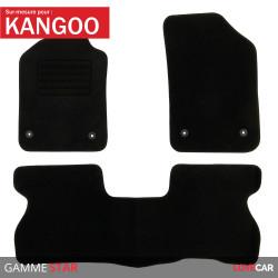 Tapis sur mesure Star pour Renault Kangoo 1 (de 08/1997 à 01/2008)