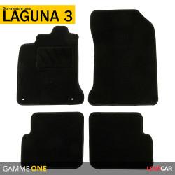 Tapis sur mesure pour Renault Laguna 3 (de 11/2007 à 2015)
