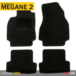 Tapis sur mesure pour Renault Mégane 2 (de 11/2002 à 10/2011)