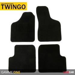 Tapis sur mesure pour Renault Twingo (de 03/1993 au 06/2007)