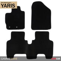 Tapis sur mesure Luxe pour Toyota Yaris (de 11/2005 à 09/2011)