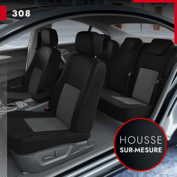 Housses sur mesure pour Peugeot 308 (de 09/2013 à 2020)