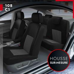 Housses de siège sur mesure pour Peugeot 108