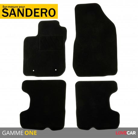 Tapis sur mesure pour Dacia Sandero