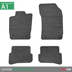 Tapis sur mesure caoutchouc pour Audi A1/S1 Sportback (de 08/2010 à 10/2018)