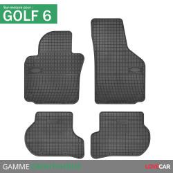 Tapis sur mesure caoutchouc pour Volkswagen Golf 6 (de 10/2008 à 11/2012)