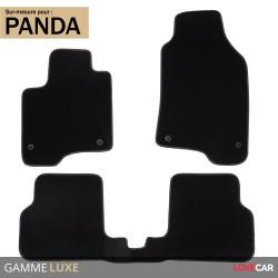 Tapis sur mesure pour Fiat Panda (de 01/2012 à 2020)