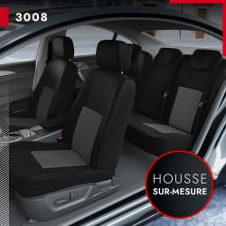 Housses sur mesure pour Peugeot 3008 (de 05/2009 à 2016)