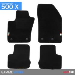 Tapis sur mesure FIAT 500X (de 09/2014 à 2020)