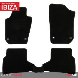 Tapis sur mesure pour Seat Ibiza (de 06/2008 à 06/2017)