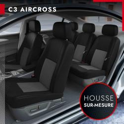 Housses de siège sur mesure pour Citroën C3 AIRCROSS (de 10/2017 à 2020)