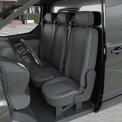 Housse Utilitaire pour Peugeot Partner (Rifter) (dès 09/2018 à 2020) 3 sièges + tablette