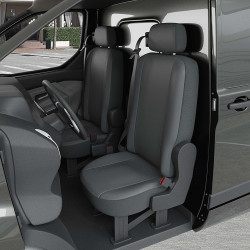 Housse Utilitaire pour Peugeot Partner (Rifter) (dès 2018 à 2020) 2 sièges