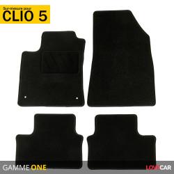 Tapis voiture sur mesure pour Renault Clio 5 (de 09/2019 à 2020)