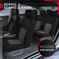 Housses de siège sur mesure pour Renault Scénic 3