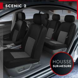 Housses de siège sur mesure pour Renault Scénic 2