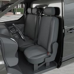 Housse Utilitaire pour Citroën Jumpy (dès 09/2016 à 2020) 1 siège + 1 banquette